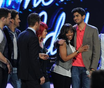 american idol results april 22 2009