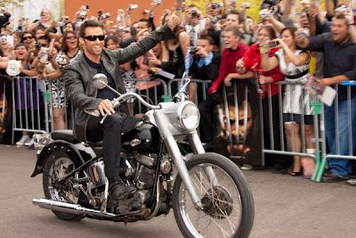 Hugh Jackman x-men origins wolverine premiere