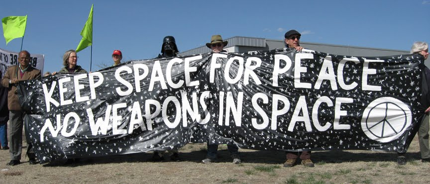 peace keeping in outer space All the states parties to the outer space treaty recognize the common interest of all mankind in the progress of the exploration and use of outer space for peaceful purposes.