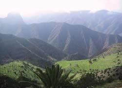 Vista del Valle desde Punta Sardina.