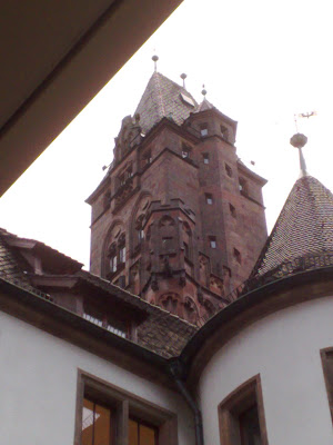 angles, rathaus, tower, town hall, turret
