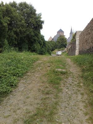castle, path