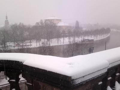 snow, theatre,