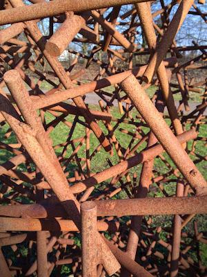 sculpture, garden,