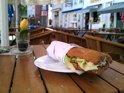 street café,