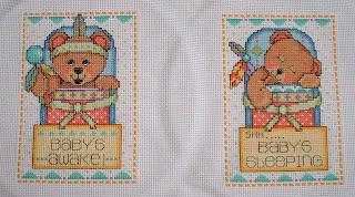 Teepee Bears Door Hanger