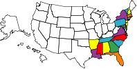 States that I have riden to.