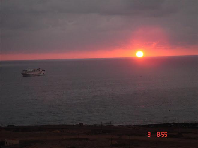 Amanecer en Puerto Del Rosario. Fuerteventura