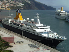 Saga Pearl II, in Funchal for the first time