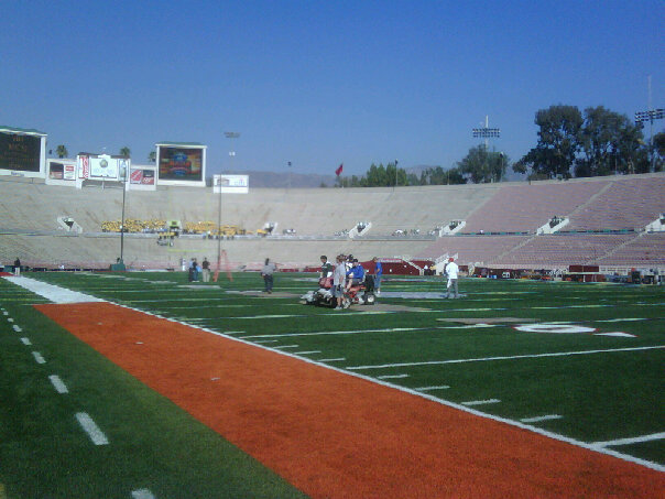 ROSE BOWL LOWER FIELD LEVEL