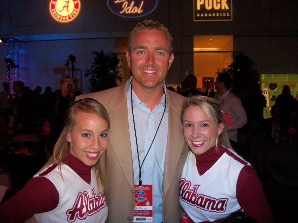 CHEERLEADERS WITH KIRK HERBSTREIT
