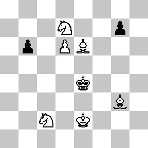 Jaque Mate en 2 jugadas - problemas de ajedrez