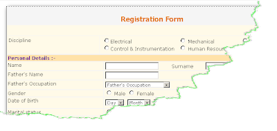 NTPC Executive Trainee Online Form 2013