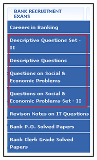 Bank of India PO Descriptive Sample Papers