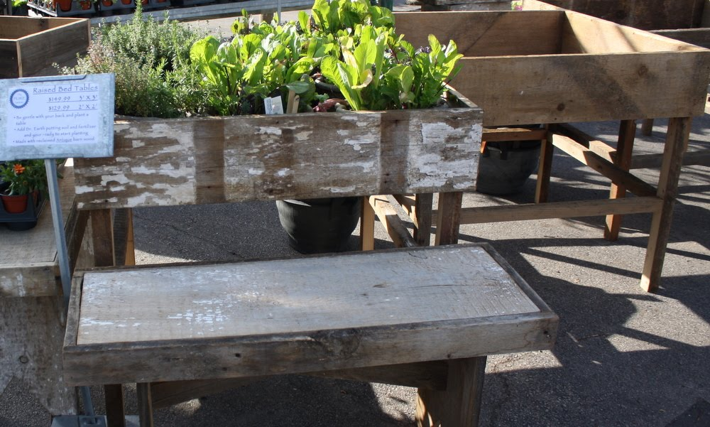 The Pure Gardener Inc Just In Barn Wood Raised Beds