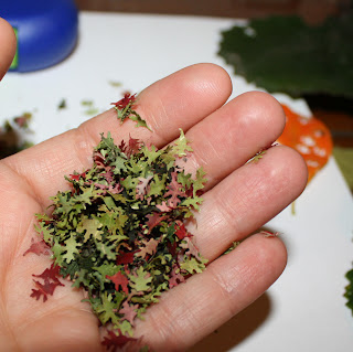 "The PURE Gardener, Inc.: How to Make ""Real"" Miniature Fall Leaves"