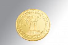 GOLD COIN 50 GRAM