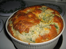 Brocolli Cheese Souffle
