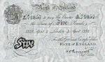 שטר 5 לירות סטרלינג בריטי מזוייף של מבצע ברנהרד
