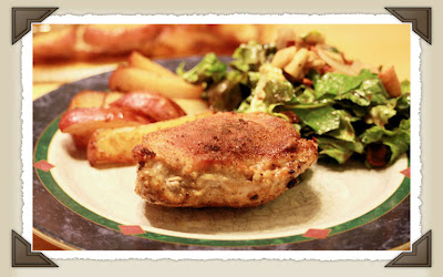 What's for Dinner?: Apple, Smoked Gouda, and Bacon Stuffed Pork Chops