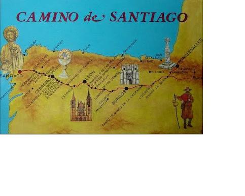 Il cammino francese verso Santiago
