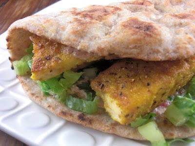 Kahakai kitchen indian spiced fish tacos with curried for Greek yogurt fish taco sauce