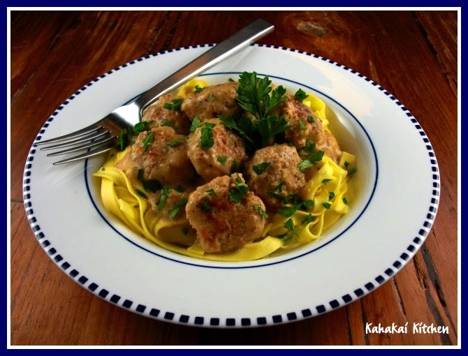 ... Mark Bittman's Swedish / Danish Meatballs Lightened-Up and Dairy-Free