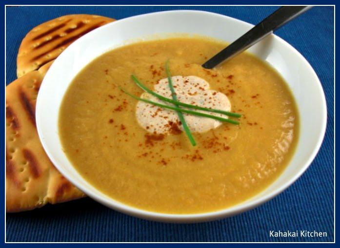 Cauliflower Soup with Tandoori Yogurt: A Creamy But Healthy Spa Soup ...