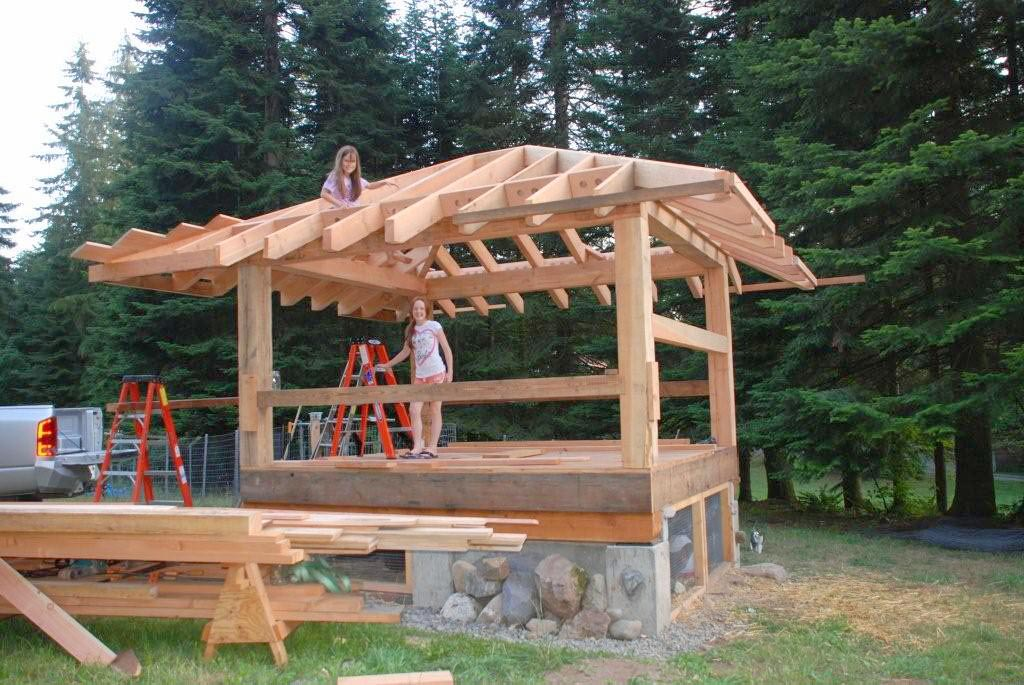 Applegarth farm timber frame chicken coop for A frame chicken house