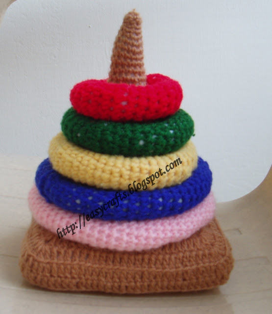 Easy Crafts - Crochet: Crochet toy for kid