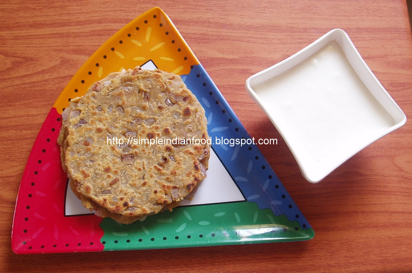 how to make simple paratha