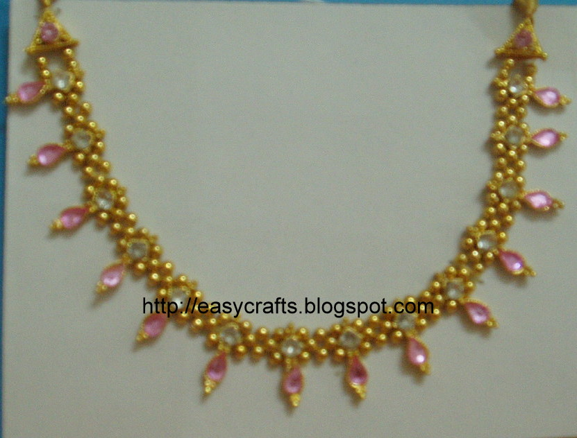 how to make artificial jewellery homemade jewellery design imitation