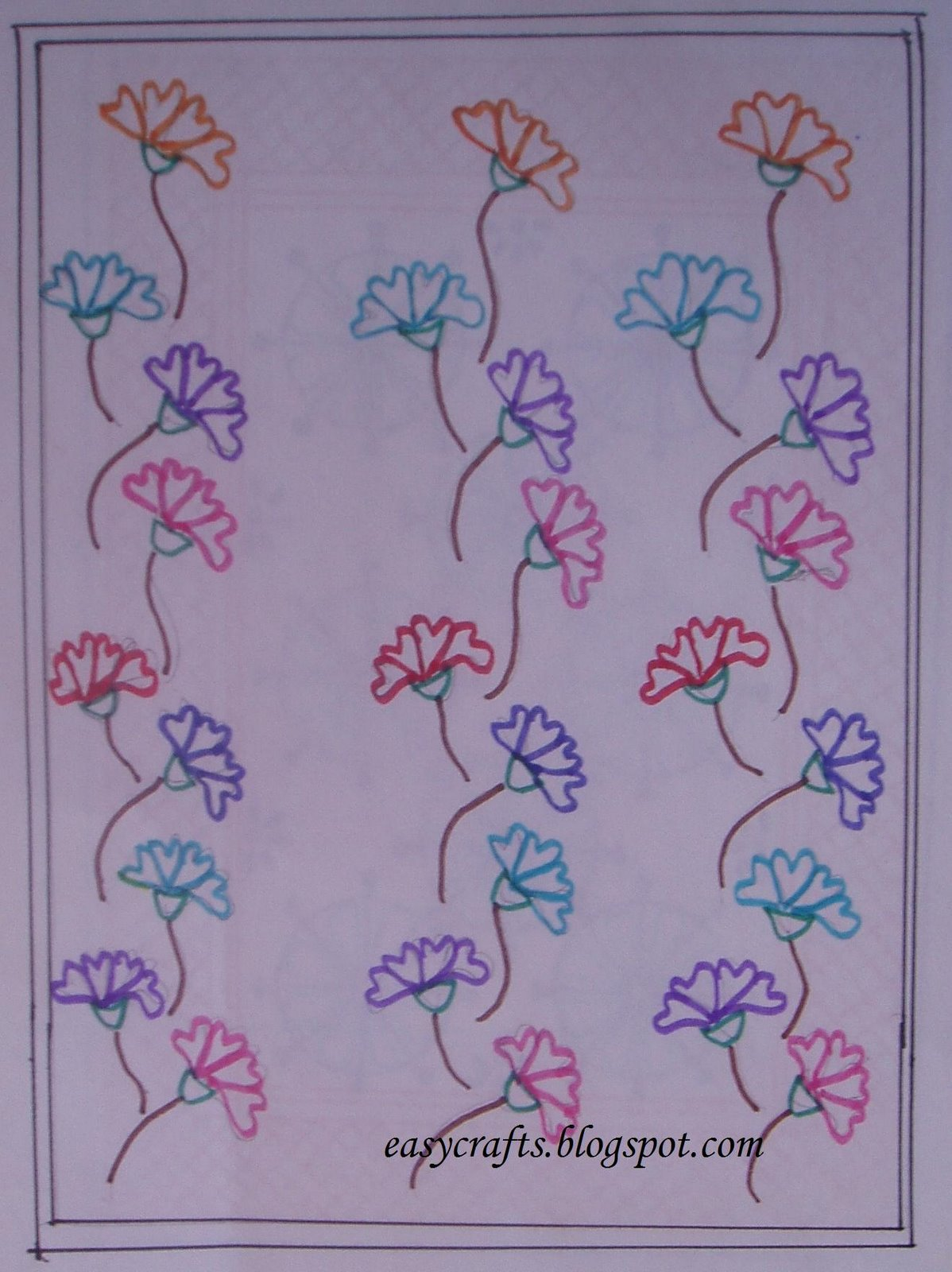 Easy crafts explore your creativity fabric painting designs for Fabric designs