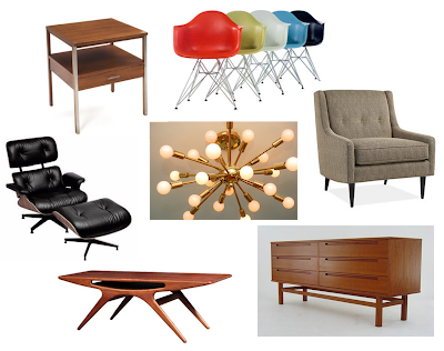 Mid Century Home Decor