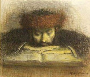 [contemplating+seforim+minhagim+sefard+ashkenaz+learning+chassid.jpg]