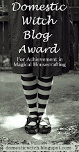 Domestic Witch Award For Magickal Housekeeping