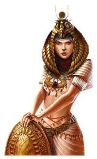 Crafty's Cuppa Coffee: My Isis-Hathor Egyptian Goddess Shriney ...