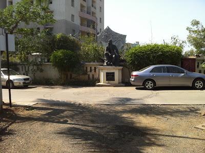Pune India Kumar City Isaac Newton statue