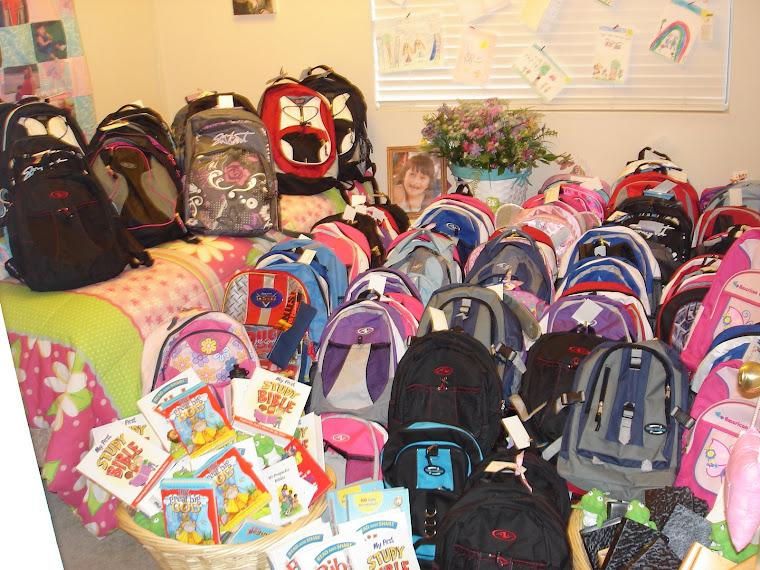 Backpacks full of SMILES...