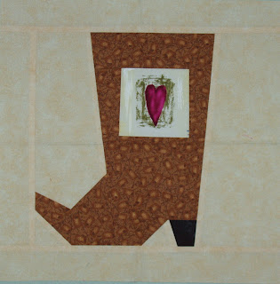 Books and Quilts: May 2009 : cowboy boots quilt pattern - Adamdwight.com