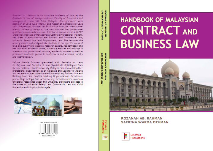 malaysia contract law Laws of malaysia act 658  formation and validity of contract part iii  law is fulfilled, if the document is in the form of an electronic.