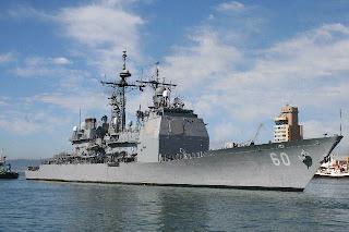 USS Normandy, navire de la IVe Flotte des Etats-Unis