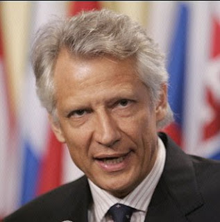 Portrait de Dominique de Villepin