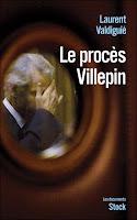 Couverture de Le procès Villepin