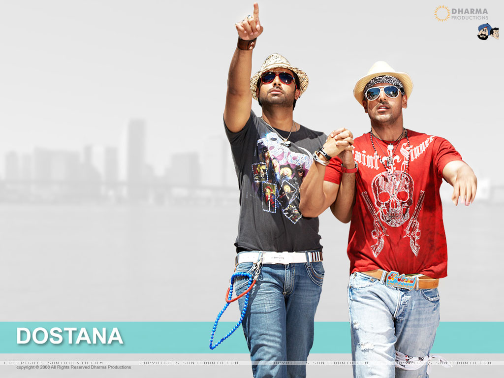 Watch Movie Online Dostana Preview with complete story