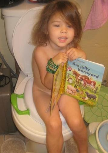 The Parmers Have Moved: Potty Talk - Day #2