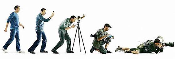 A evolução de um fotografo