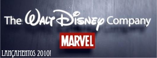 Disney e Marvel: Lançamentos 2010