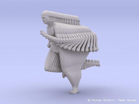Esculturas em movimento