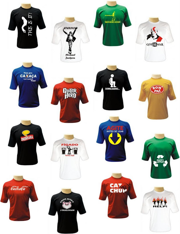 Camisetas Criativas